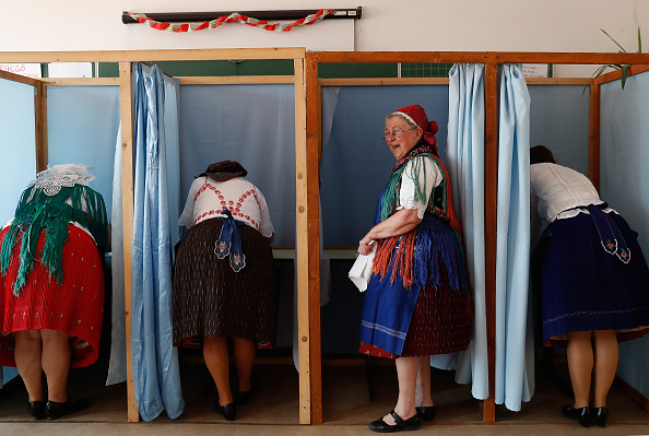 Laszlo Balogh「Hungary Votes In EU Elections」:写真・画像(15)[壁紙.com]