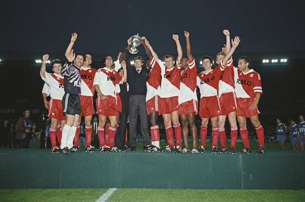 Monaco「1991 Coupe de France Cup Final Marseille 0-1 Monaco」:写真・画像(12)[壁紙.com]