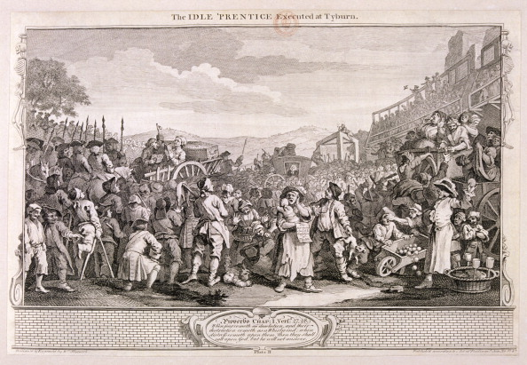 Methodist「'The idle 'prentice executed at Tyburn', plate XI of Industry and Idleness, 1747. Artist: William Hogarth」:写真・画像(16)[壁紙.com]