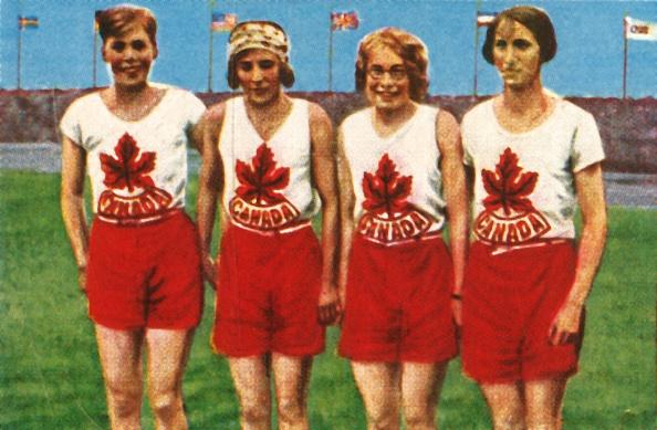 Cigarette Card「Canadian Team」:写真・画像(0)[壁紙.com]