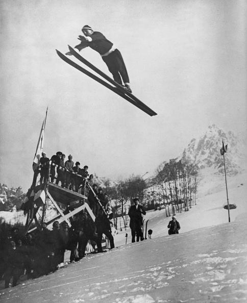Winter Olympic Games「1924 Winter Olympics - Ski Jump」:写真・画像(3)[壁紙.com]
