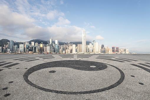 Martial Arts「Hongkong city architectural landscape」:スマホ壁紙(4)