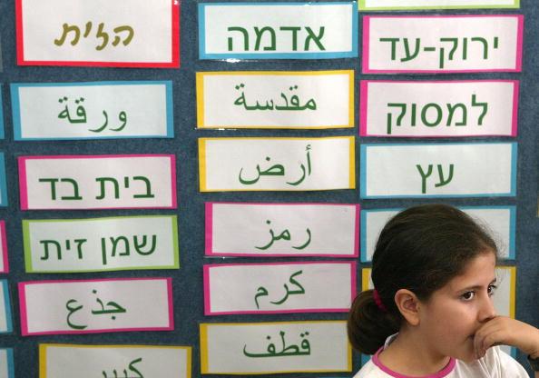 Middle Eastern Ethnicity「Arab And Jewish Children Study Together In Israeli School」:写真・画像(2)[壁紙.com]