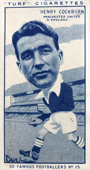 Grass「Henry Cockburn Manchester United Cigarette Card 1951」:写真・画像(2)[壁紙.com]