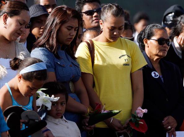 New Zealand Warriors「Memorial Service Held For Sonny Fai」:写真・画像(17)[壁紙.com]