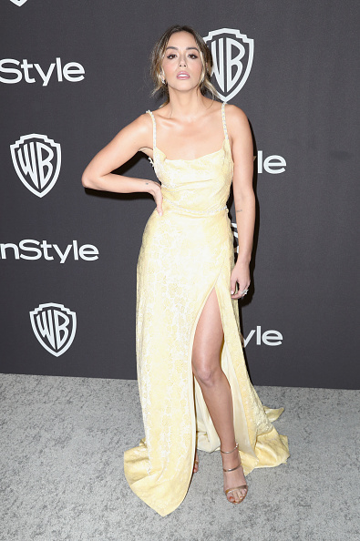 Yellow Dress「InStyle And Warner Bros. Golden Globes After Party 2019 - Arrivals」:写真・画像(3)[壁紙.com]