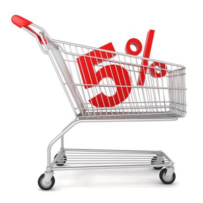 Percentage Sign「Shopping Sale - 5% Discount」:スマホ壁紙(7)
