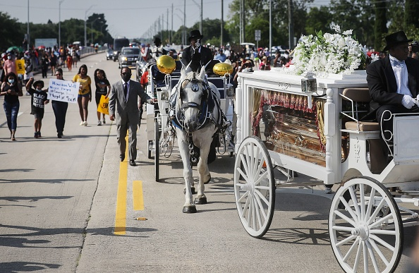 Funeral「Private Funeral For George Floyd Takes Place In Houston」:写真・画像(1)[壁紙.com]