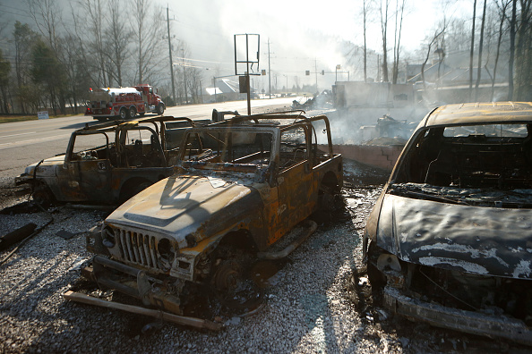 Tennessee「Wildfires Rage Through Tennessee Resort Town Of Gatlinburg」:写真・画像(0)[壁紙.com]