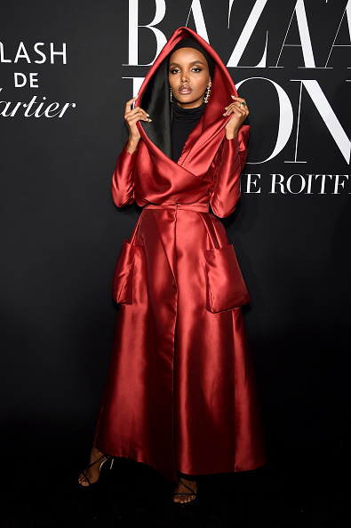 """Skull Cap「Harper's BAZAAR Celebrates """"ICONS By Carine Roitfeld"""" At The Plaza Hotel Presented By Cartier - Arrivals」:写真・画像(10)[壁紙.com]"""