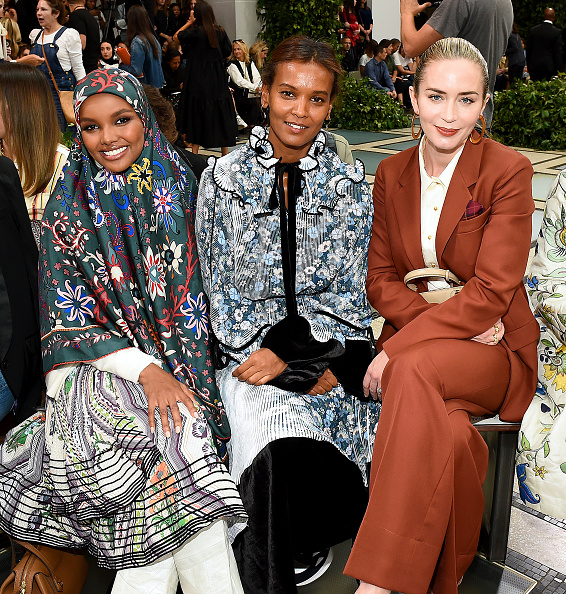 Front Row「Tory Burch NYFW SS20 - Backstage & Front Row」:写真・画像(9)[壁紙.com]