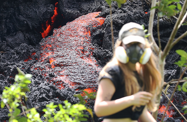 National Park「Hawaii's Kilauea Volcano Erupts Forcing Evacuations」:写真・画像(14)[壁紙.com]
