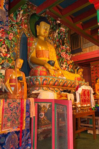 Thyangboche Monastery「Dukhang prayer hall interior」:スマホ壁紙(4)