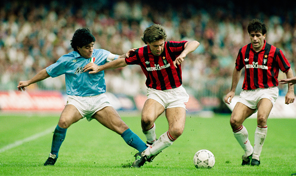 Athlete「Diego Maradona and Carlo Ancelotti」:写真・画像(9)[壁紙.com]
