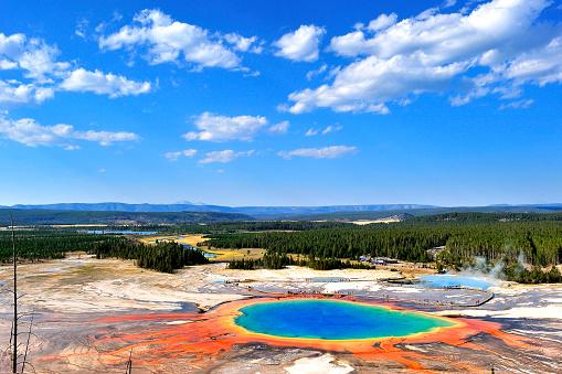 Grand Prismatic Spring「Grand Prismatic Spring, Yellowstone National Park, USA」:スマホ壁紙(7)