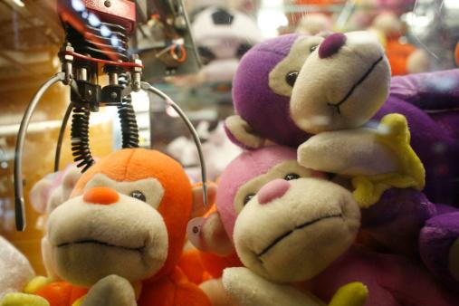 Stuffed Animals「Stuffed toys at arcade game」:スマホ壁紙(12)