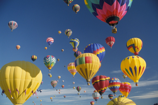 気球「Hot air balloons」:スマホ壁紙(5)