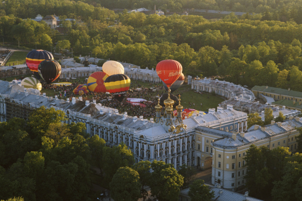 気球「Hot Air Ballooning In Russia」:写真・画像(10)[壁紙.com]