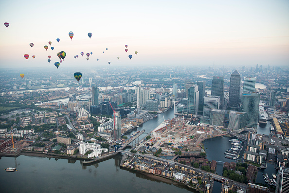 Urban Skyline「Lord Mayor's Hot Air Balloon Regatta」:写真・画像(8)[壁紙.com]