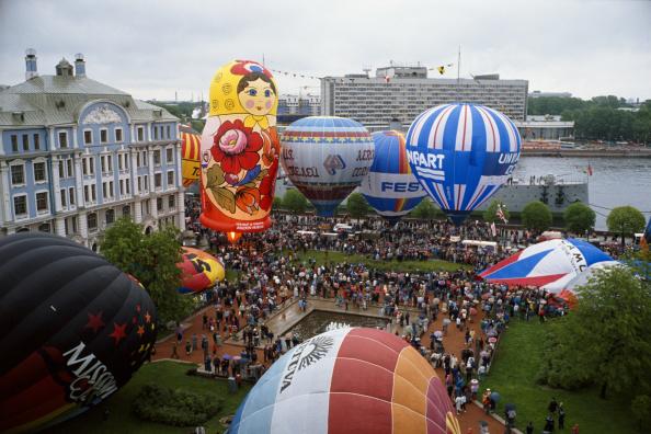 気球「Hot Air Ballooning In Russia」:写真・画像(17)[壁紙.com]