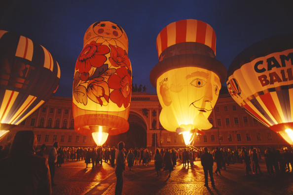 気球「Hot Air Ballooning In Russia」:写真・画像(13)[壁紙.com]