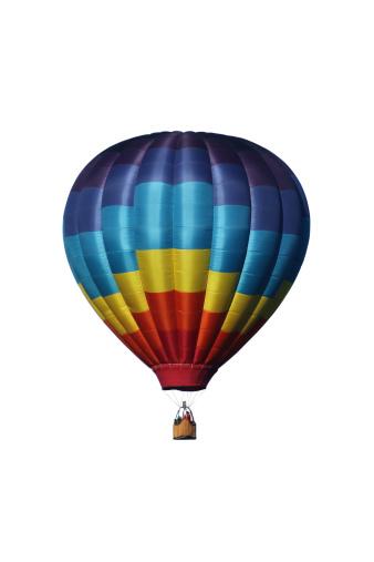 気球「熱気球、ホワイト」:スマホ壁紙(13)