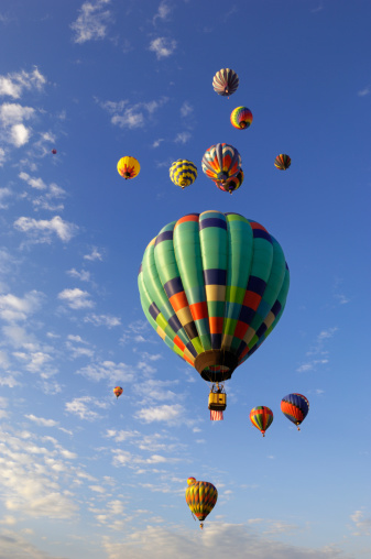 Freedom「Hot Air Balloons, Sky and Clouds」:スマホ壁紙(12)