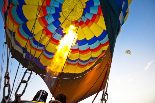 気球「熱気球で、カリフォルニア州ナパバレー」:スマホ壁紙(18)