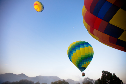 Leisure Activity「Hot Air Balloons in Napa Valley California」:スマホ壁紙(15)
