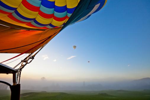 気球「熱気球で、カリフォルニア州ナパバレー」:スマホ壁紙(8)