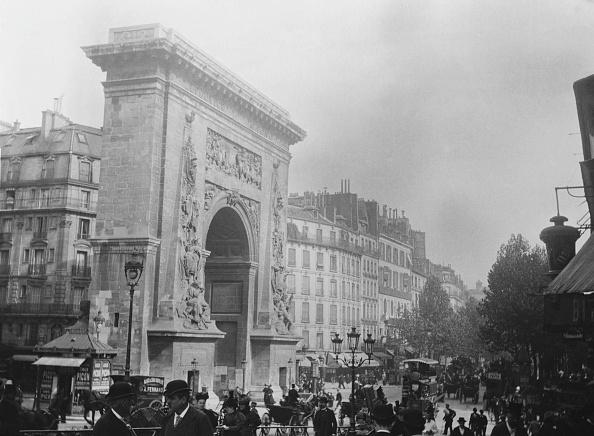 1890-1899「La Porte Saint Denis Paris」:写真・画像(13)[壁紙.com]