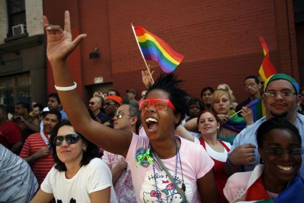 New York City Gay Pride Parade「New Yorkers Celebrate Gay Pride」:写真・画像(19)[壁紙.com]