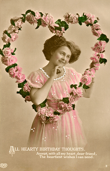 薔薇「Woman And Heart-Shaped Wreath」:写真・画像(12)[壁紙.com]