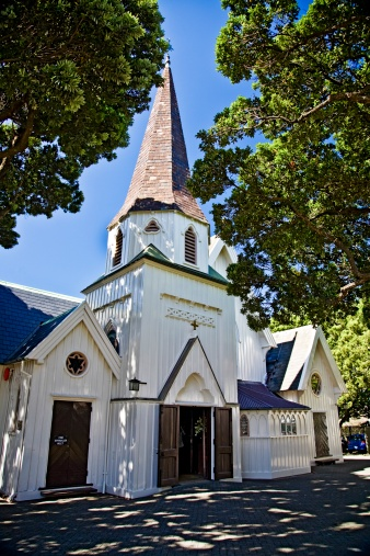 1866「Old St Paul's Cathedral, Wellington, North Island, New Zealand」:スマホ壁紙(3)