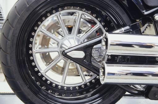 Motorcycle「Back wheel, Harley Davidson」:スマホ壁紙(14)