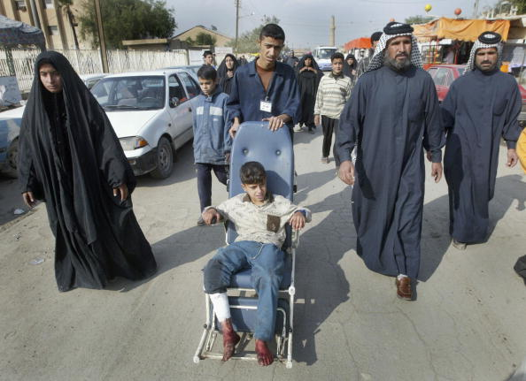 Homemade「Roadside Device Claims At Least Four Lives In Baghdad Explosion」:写真・画像(3)[壁紙.com]