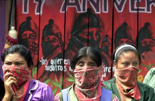 Latin America「Mexican Zapatistas Hold A Press Conference」:写真・画像(7)[壁紙.com]