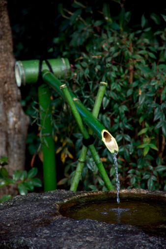 Wabi Sabi「Water basin in a garden」:スマホ壁紙(12)