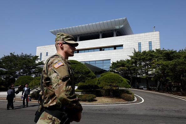 アメリカ合衆国「Panmunjom Ahead Of Inter-Korean Summit Between Leader Kim and President Moon」:写真・画像(9)[壁紙.com]
