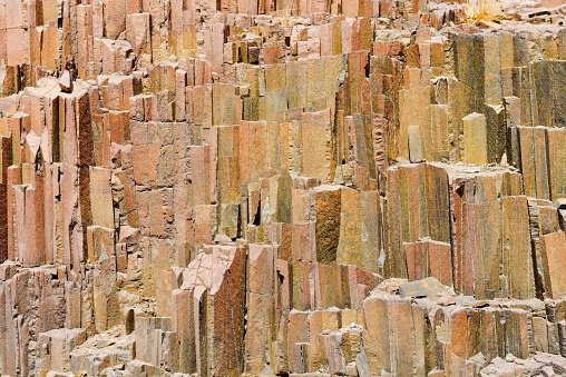 Basalt「Namibia, Damaraland, Twyfelfontein, Basalt organ pipes」:スマホ壁紙(5)