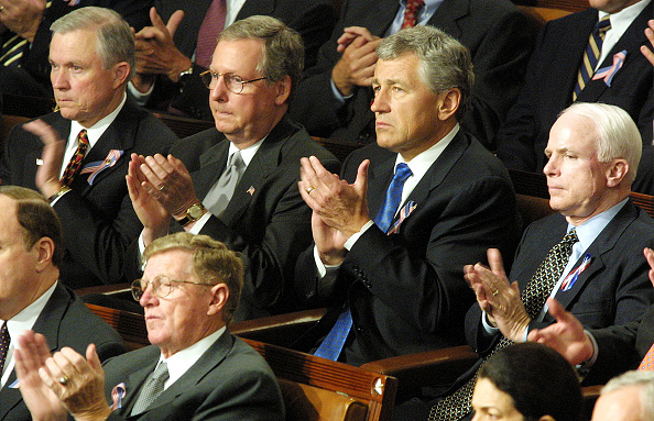 Joint Session of Congress「President Bush speaks To Joint Session of Congress」:写真・画像(16)[壁紙.com]