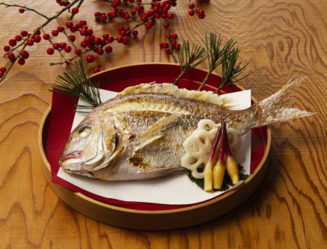 Sea Bream「Broiled sea bream with salt」:スマホ壁紙(19)