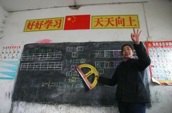 Cancan Chu「Migrant Children Attend School In Beijing」:写真・画像(11)[壁紙.com]