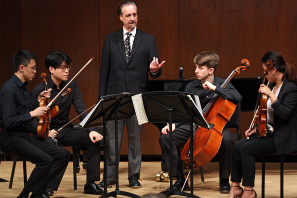 Paul Hall - Juilliard「David Finckel Master Class」:写真・画像(1)[壁紙.com]
