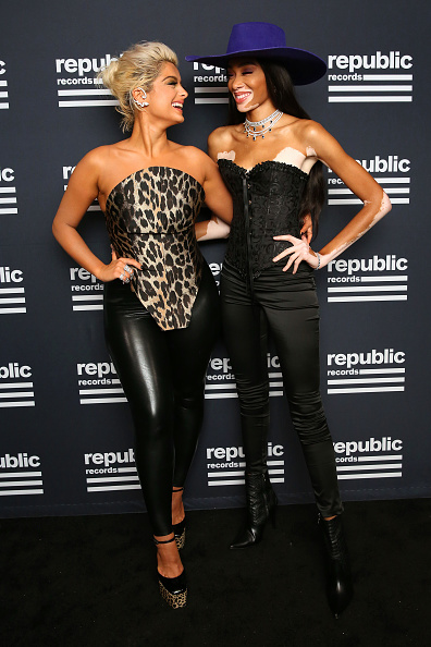 Leather Boot「Republic Records Celebrates The 2019 VMAs At The Fleur Room At Moxy Chelsea」:写真・画像(3)[壁紙.com]