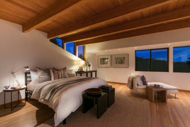Modern Bedroom in California:スマホ壁紙(壁紙.com)