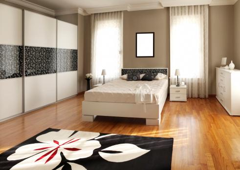 Duvet「Modern bedroom」:スマホ壁紙(8)