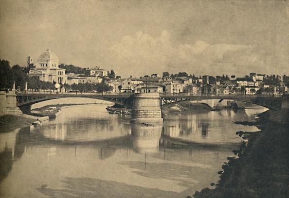 Water Surface「Roma - Ponte Garibadi 1910」:写真・画像(18)[壁紙.com]
