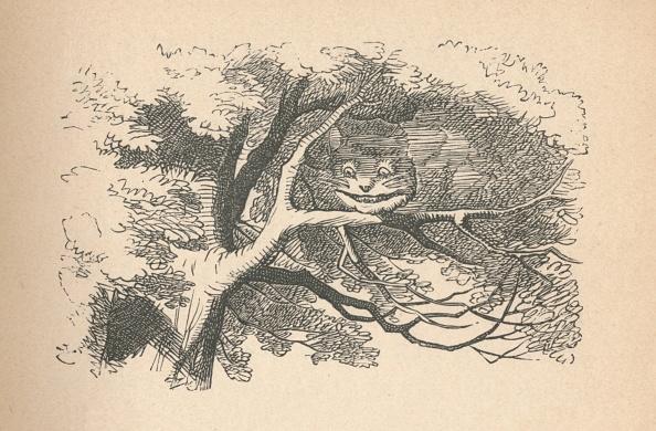 絵「The Cheshire Cat Begins To Fade Away, Its His Smile The Last To Go, 1889」:写真・画像(12)[壁紙.com]