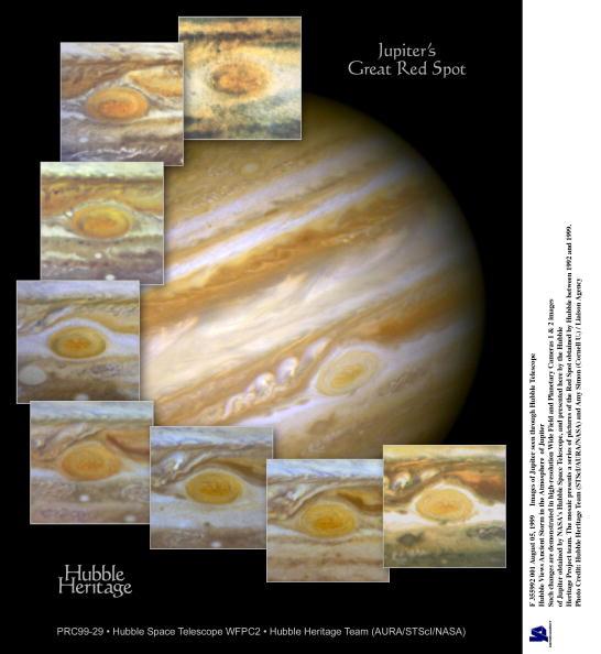 Hubble Space Telescope「Images Of Jupiter Seen Through Hubble Telescope」:写真・画像(12)[壁紙.com]